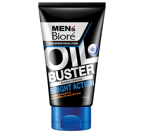 Men's Biore Oil Buster – Bright Action