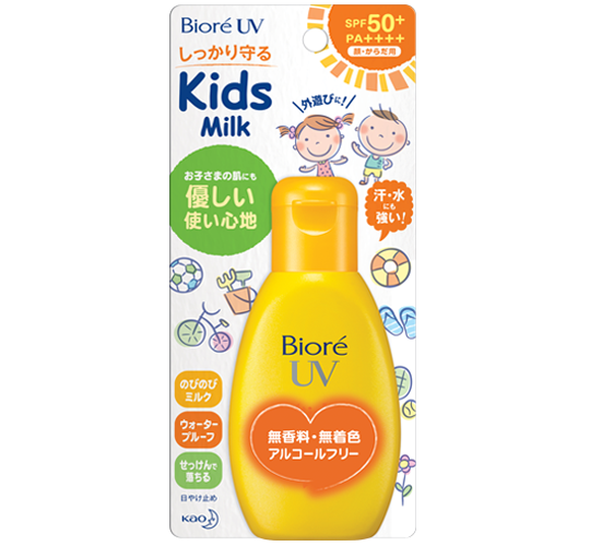 Biore UV Smooth Kids Milk SPF50+ PA++++