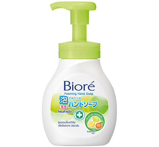 Biore Foaming Hand Soap Citrus  Fragrance